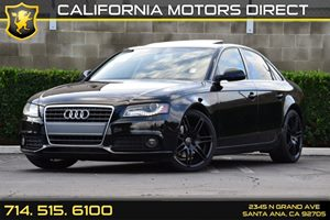 2010 Audi A4 20T Premium  Plus Carfax 1-Owner - No AccidentsDamage Reported 12V Pwr Outlet Ala