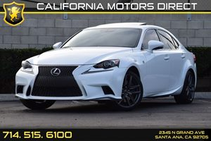 2015 Lexus IS 350  Carfax 1-Owner - No AccidentsDamage Reported Audio  Auxiliary Audio Input C