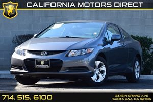 2013 Honda Civic Cpe LX Carfax 1-Owner - No AccidentsDamage Reported Audio  Cd Player Compact