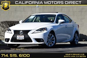 2015 Lexus IS 250  Carfax 1-Owner - No AccidentsDamage Reported Audio  Auxiliary Audio Input C