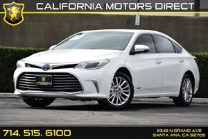 2016 Toyota Avalon Hybrid Limited Carfax Report - No AccidentsDamage Reported Audio  Auxiliary