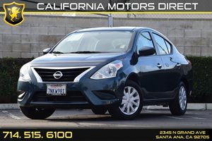2015 Nissan Versa SV Carfax 1-Owner - No AccidentsDamage Reported Audio  Auxiliary Audio Input