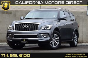 2015 INFINITI QX80  Carfax 1-Owner - No AccidentsDamage Reported Analog Display Chrome Door Han
