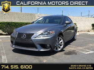 2014 Lexus IS 250  Carfax 1-Owner - No AccidentsDamage Reported Audio  Auxiliary Audio Input C