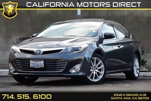 2013 Toyota Avalon Limited Carfax 1-Owner - No AccidentsDamage Reported Ambient Lighting Audio