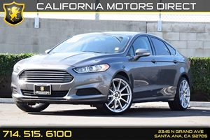 2014 Ford Fusion SE Carfax 1-Owner Audio  Auxiliary Audio Input Chrome Grille Compact Spare Ti