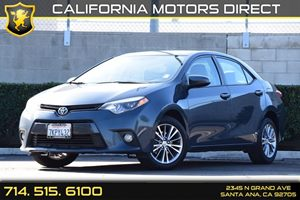 2015 Toyota Corolla LE Plus Carfax 1-Owner - No AccidentsDamage Reported Audio  Auxiliary Audio