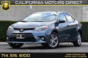 2014 Toyota Corolla LE Carfax 1-Owner - No AccidentsDamage Reported Air Conditioning  AC Audi