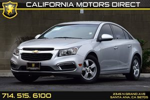 2015 Chevrolet Cruze LT Carfax 1-Owner Convenience  Cruise Control Convenience  Engine Immobil