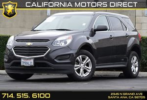 2016 Chevrolet Equinox LS Carfax 1-Owner Audio  Auxiliary Audio Input Convenience  Back-Up Cam