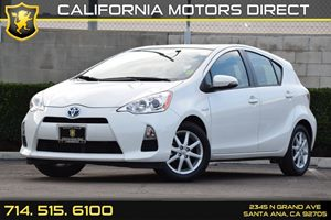 2013 Toyota Prius c One Carfax 1-Owner Audio  Auxiliary Audio Input Convenience  Keyless Start