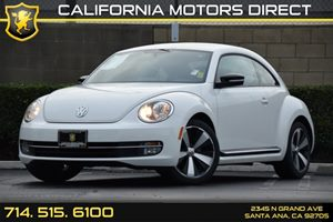 2013 Volkswagen Beetle Coupe 20T Turbo Carfax 1-Owner - No AccidentsDamage Reported Audio  Aux