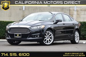2014 Ford Fusion Titanium Carfax 1-Owner Audio  Auxiliary Audio Input Chrome Door Handles Comp