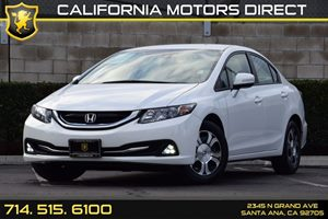 2013 Honda Civic Hybrid  Carfax 1-Owner - No AccidentsDamage Reported Audio  Auxiliary Audio In
