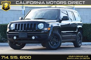 2016 Jeep Patriot Sport Carfax 1-Owner - No AccidentsDamage Reported Black Manual Side Mirrors W