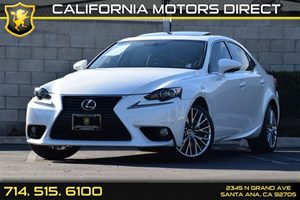 2014 Lexus IS 250  Carfax 1-Owner Audio  Auxiliary Audio Input Body-Colored Front Bumper Chrom