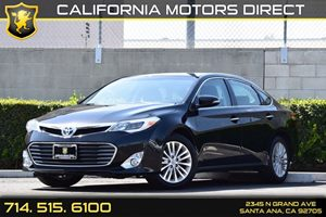 2015 Toyota Avalon Hybrid Limited Carfax 1-Owner Body-Colored Rear Bumper WBlack Rub StripFasci