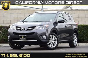 2014 Toyota RAV4 Limited Carfax 1-Owner Audio  Auxiliary Audio Input Body-Colored Door Handles