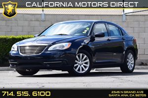 2011 Chrysler 200 Touring Carfax Report Audio  Auxiliary Audio Input Convenience  Cruise Contr