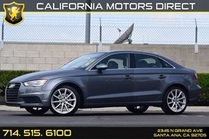 2015 Audi A3 18T Premium Plus Carfax 1-Owner Audio  Auxiliary Audio Input Body-Colored Rear Bu
