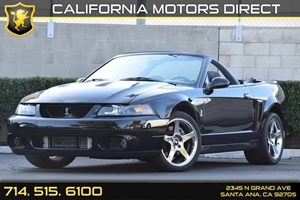 2003 Ford Mustang SVT Cobra Carfax Report - No AccidentsDamage Reported Convenience  Cruise Con
