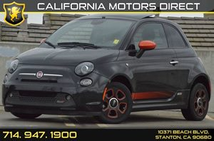 2013 FIAT 500e ELECTRIC  Carfax 1-Owner - No AccidentsDamage Reported 0 Cylinders Air Condition