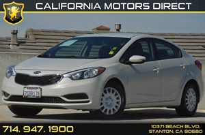 2015 Kia Forte LX Carfax 1-Owner 4 Cylinders Air Conditioning  AC Audio  AmFm Stereo Audio