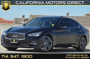 2014 INFINITI Q50 Premium Carfax 1-Owner - No AccidentsDamage Reported 6 Cylinders Air Conditio