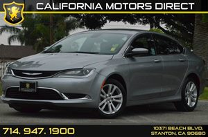2016 Chrysler 200 Limited Carfax 1-Owner - No AccidentsDamage Reported 4 Cylinders Air Conditio