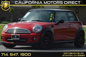 2013 MINI Cooper Hardtop  Carfax 1-Owner - No AccidentsDamage Reported 4 Cylinders Air Conditio