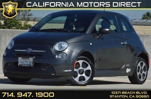 2015 FIAT 500e ELECTRIC  Carfax 1-Owner - No AccidentsDamage Reported Air Conditioning  AC Au