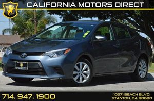 2014 Toyota Corolla LE Carfax 1-Owner 4 Cylinders Air Conditioning  AC Audio  AmFm Stereo