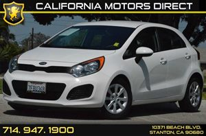 2014 Kia Rio LX Carfax 1-Owner - No AccidentsDamage Reported 4 Cylinders Air Conditioning  AC
