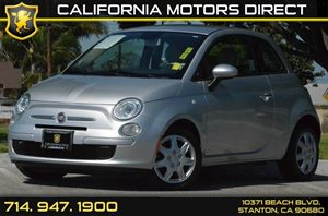 2013 FIAT 500 Pop Carfax 1-Owner - No AccidentsDamage Reported 4 Cylinders Air Conditioning  A