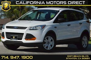 2013 Ford Escape S Carfax Report 4 Cylinders Air Conditioning  AC Audio  AmFm Stereo Audio