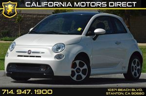 2014 FIAT 500e ELECTRIC  Carfax 1-Owner - No AccidentsDamage Reported Air Conditioning  AC Au