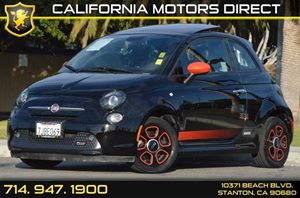 2015 FIAT 500e ELECTRIC  Carfax 1-Owner - No AccidentsDamage Reported 0 Cylinders Air Condition