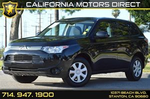 2014 Mitsubishi Outlander ES Carfax 1-Owner - No AccidentsDamage Reported 4 Cylinders Air Condi