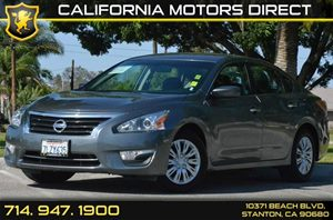 2015 Nissan Altima 25 Carfax 1-Owner 4 Cylinders Air Conditioning  AC Audio  AmFm Stereo