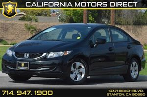 2014 Honda Civic Sedan LX Carfax 1-Owner - No AccidentsDamage Reported 4 Cylinders Air Conditio