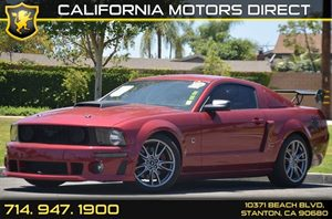 2007 Ford Mustang GT Roush Edition Carfax Report - No AccidentsDamage Reported 8 Cylinders Air