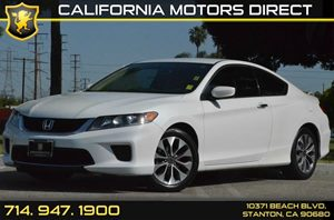 2014 Honda Accord Coupe LX-S Carfax 1-Owner 4 Cylinders Air Conditioning  AC Audio  AmFm St