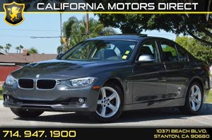 2014 BMW 3 Series 328i Carfax 1-Owner - No AccidentsDamage Reported 4 Cylinders Air Conditionin