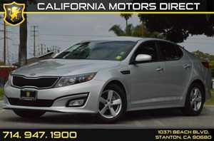 2015 Kia Optima LX Carfax 1-Owner - No AccidentsDamage Reported 4 Cylinders Air Conditioning