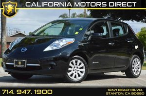 2014 Nissan LEAF S Carfax 1-Owner - No AccidentsDamage Reported Air Conditioning  AC Audio