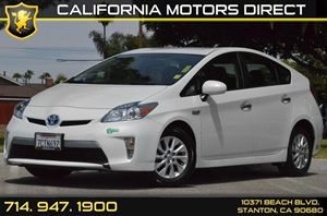 2013 Toyota Prius Plug-In  Carfax 1-Owner - No AccidentsDamage Reported 4 Cylinders Air Conditi