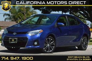 2014 Toyota Corolla S Carfax 1-Owner - No AccidentsDamage Reported 4 Cylinders Air Conditioning