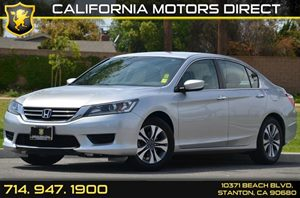 2014 Honda Accord Sedan LX Carfax 1-Owner - No AccidentsDamage Reported 4 Cylinders Air Conditi