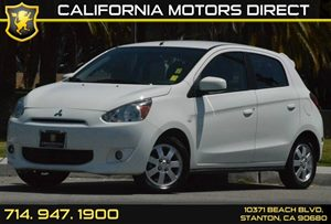 2014 Mitsubishi Mirage ES Carfax 1-Owner - No AccidentsDamage Reported 3 Cylinders Air Conditio