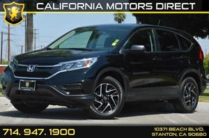 2016 Honda CR-V SE Carfax 1-Owner - No AccidentsDamage Reported 4 Cylinders Air Conditioning